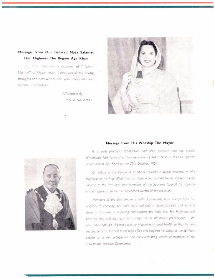 Souvenir of Entrhronement of Mawlana Hazar Imam Uganda Oct 25 1957_Page_07