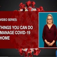 10 Things You Can do to Manage COVID-19 at Home presented in American Sign Language (ASL) via @CDCgov