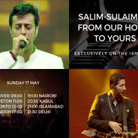@SlimSulaiman: Virtual Concert in Support of AKDN's Global Pandemic Relief Fund feat. @Salim_merchant-@Sulaiman Only on #TheIsmailiTV