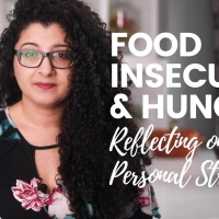 Food Insecurity and Hunger: Reflecting on My Personal Struggles (@Desiliciousrd) (@aplaceforfood)
