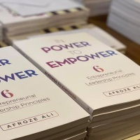 Book Release: In Power to Empower: 6 Entrepreneurial Leadership Principles by Afroze Ali (@ideallyafroze)
