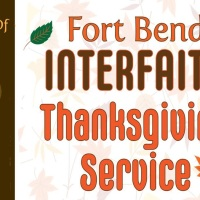 SouthWest Ismaili Muslim Choir Participates in Annual Fort Bend Interfaith #Thanksgiving Service