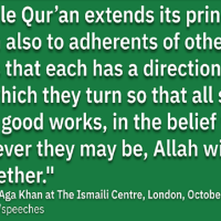 The Aga Khan's Perspectives: Pluralism and Acquisition of Knowledge